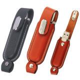 Azionamento portatile all'ingrosso dell'istantaneo del USB del cuoio con stampa il vostro marchio
