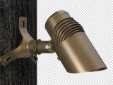 RGBW imperméabilisent l'horizontal DEL Uplight pour le pouvoir de dispositif de jardin de pelouse d'herbe et l'angle de faisceau réglable