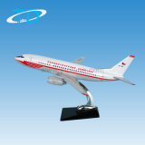 Scala promozionale 1/100 B737-500 della resina del modello del regalo