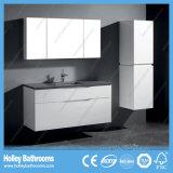 Vaidade européias modernas do banheiro com gabinete do espelho e unidade do lado (BF361D)