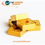 Вставки карбида Indexable поворачивая для алюминиевой нержавеющей стали
