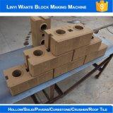 Машина кирпича глины Wt1-25 блокируя для полого блока