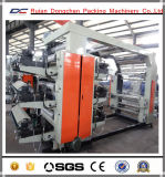 4 colores de tinta solvente de impresión flexográfica Máquina de plástico del carrete de película (DC-YT4600)