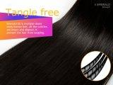 Gerade natürliche Farbe des Jungfrau-brasilianische Haar-Smaragd-3in1