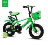 Bicicleta cor-de-rosa para a menina, bicicleta dos miúdos dos miúdos das meninas com trombeta, bicicleta do miúdo das meninas com cesta