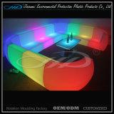 Nachladbare bunte LED-helle Garten-Plastikmöbel