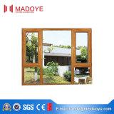 Профиль европейского типа алюминиевый стеклянный Опрокидывать-Поворачивает окно для комнаты приема