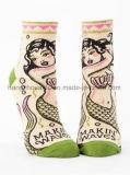 Причудливый носок лодыжки платья женщин красотки характера