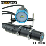 O mergulho 4000lm máximo claro video do diodo emissor de luz do CREE de Hoozhu Hv33 Waterproof 100m