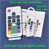 Mini regulador del telecontrol del RGB LED