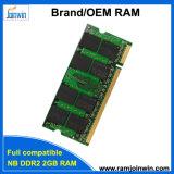 De volledige Compatibele 128mbx8 Ett RAM van de Spaander DDR2 SODIMM 2GB
