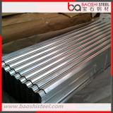 Placa de material para techos galvanizada/hoja acanalada galvanizada sumergida caliente del material para techos