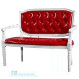 Sofá moderno da sala de estar do frame da madeira contínua da sala de visitas (HW-202S)
