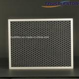 Пластичный фильтр активированного угля сота для удаления запаха