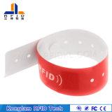 Modificado para requisitos particulares jugando el Wristband elegante del código RFID del laser para la aviación