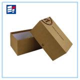 Pequeña caja de cartón de papel Kraft natural respetuosa del medio ambiente natural