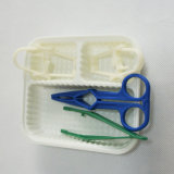使い捨て可能な医学の外科ピンセットのプラスチック鉗子