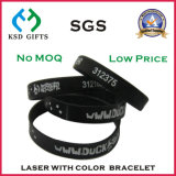 Wristband variopinto 100% dello spazio in bianco di modo del silicone