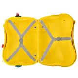 Pp.-Kinder sitzen auf Fall-Kind-Gepäck (BBL03)