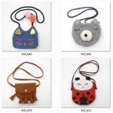 方法デザイン女の子のための小さい革安いショルダー・バッグ