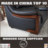 Lizzの家具123様式のソファーの偶然の円形の革ソファー