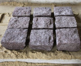 Granito naturale Cubestone della superficie di spaccatura per il passaggio pedonale della strada privata