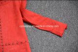 빨간 스웨드 낮잠 여자 `S 복장
