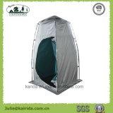وحيدة رجل مرحاض خيمة مع أرضية