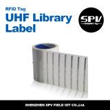Etiqueta Monza 5 da biblioteca da freqüência ultraelevada para a segurança de arquivos