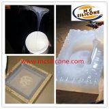 Прозрачная силиконовая резина платины для прессформы