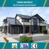 Casa prefabricada del chalet del diseño de la casa prefabricada casera del metal