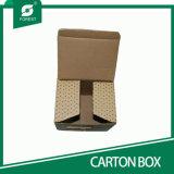 Caixa de papel colorida retangular para o empacotamento dos copos