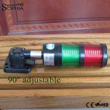indicatore luminoso rosso della macchina del segnale verde di 24V 100-240V/indicatore luminoso del cicalino
