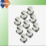 10V-25V de baja impedancia SMD Condensador electrolítico de aluminio
