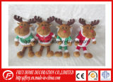 Fabrication de la Chine pour le jouet de cerfs communs de Noël de peluche