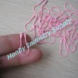 het Kledingstuk van 22mm hangt Speld van het Metaal van de Kalebasboom van de Kleur van de Baby van de Markering de Roze