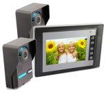 Interphone de Bell de porte de téléphone de porte de vidéo domestique avec l'appareil-photo