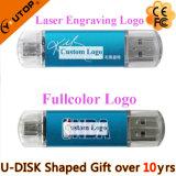 Desconectar USB Pendrive de Smartphone OTG para os presentes móveis (YT-1201-03)