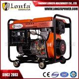 7.5kVA de draagbare Zeer belangrijke Diesel van het Begin Open Generator van de Macht met Batterij