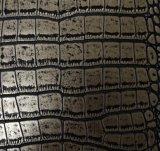 2017年のFashioneによって浮彫りにされるCroco PU PVC袋の革(W198)