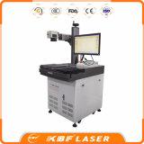 Máquina de marcação de marcadores a laser de fibra de mesa de 20W / 30W / 50W para aços inoxidáveis Metals ABS Plastics