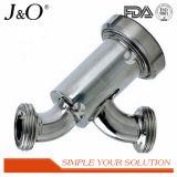 Filtre microporeux sanitaire de cartouche d'acier inoxydable