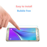 Protetor transparente elevado da tela do vidro Tempered para a nota 4 de Samsung