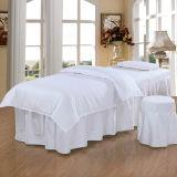 Vastzettend Vastgesteld Enig Katoen 30mm Stripe White SPA Bed Vastgestelde Linens