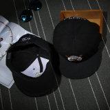 Chapeau personnalisé par coton de Hiphop Snapback de qualité