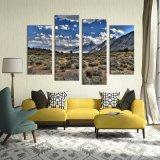 Stampa di Digitahi della tela di canapa di alta qualità resa personale abitudine per la decorazione della parete