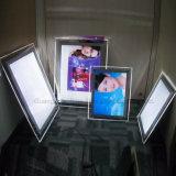 Одиночная бортовая Desk-Top коробка СИД кристаллический светлая
