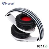 Cable audio de radio estéreo del jugador de MP3 del receptor de cabeza de Bluetooth de los mejores auriculares sin hilos Multi-Funcation FM
