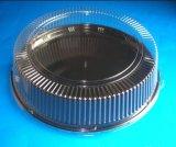 Stili differenti all'ingrosso della fabbrica di imballaggio di plastica della torta rotonda disponibile