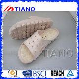 Тапочки массажа ботинок женщин светлые (TNK24904)
